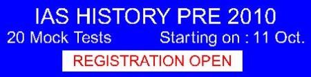 HISTORY - 20 Mock Test Prog